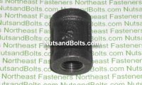 1/4 Black Pipe Coupling Qty (1)
