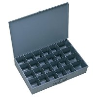 Metal Drawer (Larger) Compartment Drawer - 24 Bins