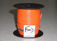 100' Red 16 Gauge Primary Wire Qty (1)