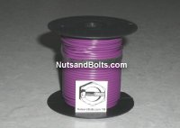 100' Purple 18 Gauge Primary Wire Qty (1)