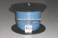 100' Blue 10 Gauge Primary Wire Qty (1)