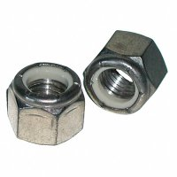 #10 - 24 Stainless Nylon Lock Nuts Qty (100)
