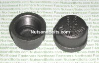3/4 Black Pipe Cap Qty (1)