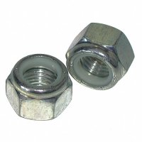 1/2 - 13 Nylon Lock Nuts Coarse Qty(50)