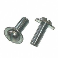 Slotted Round Head License Plate Screws (Qty) 50