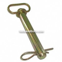 1 x 7 3/4 Trailer, Tractor or Cart Hitch Pin Qty (1)