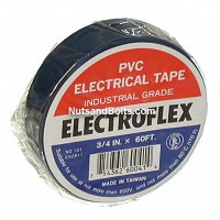 Color Coding Tape / PVC Electrical Tape - BLUE - Qty (1 roll)