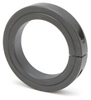 1-7/16 Single Heavy Split Shaft Collar Black Oxide Qty (1)