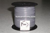 100' Gray 14 Gauge Primary Wire Qty (1)
