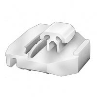 Mercedes-Benz Body Side Moulding Clip White Nylon Qty (10)