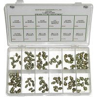 Grease Fitting Assortment - 96 pieces