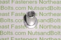 10 - 24 USS Large Flange Thin Sheet Nutserts Inserts Qty (50)