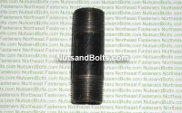 3/4 x 3 Black Pipe Long Nipple Qty (1)
