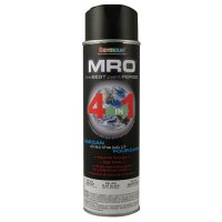 Flat Black MRO Industrial Enamel Spray Paint - Seymour 620-1433