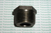 "1"" x 1/2 Black Pipe Bushing Qty (1)"