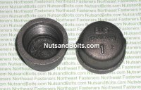 "1"" Black Pipe Cap Qty (1)"