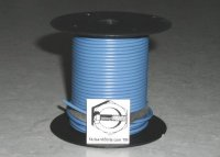 100' Blue 18 Gauge Primary Wire Qty (1)