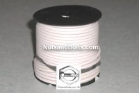 100' White 12 Gauge Primary Wire Qty (1)