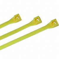 "Nylon Cable Ties - Yellow - 7"" Qty (100)"