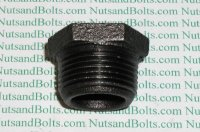 3/4 x 1/4 Black Pipe Bushing Qty (1)