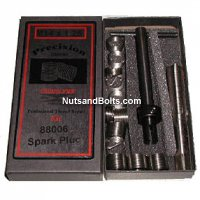 Metric Spark Plug Helical Inserts Professional Thread Repair Kit