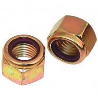 Nylon Lock Nuts Grade 8 Coarse