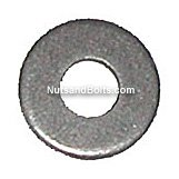 Zinc 3/16 Diameter Hole: Round Rivet Backup Washers Qty (100)