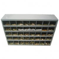 Nut, Bolt and Washer Assortment Grade 8 USS plus 40 Hole Bin