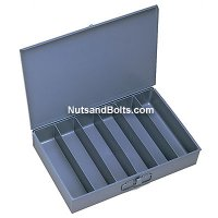 Metal Drawer (Larger) Compartment Drawer - 6 Bins