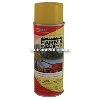 John Deere Yellow Industrial Equipment Spray Paint - Seymour 16-266