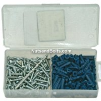 Plastic Wall Anchor Kit #10-12 Screw Size