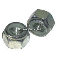 1/4 - 20 Nylon Lock Nuts Coarse Qty (100)