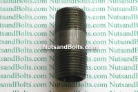 3/8 x 1 1/2 Black Pipe Long Nipple Qty (1)