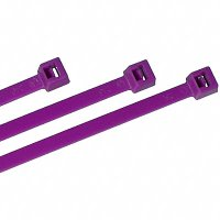 "Nylon Cable Ties - Purple - 7"" Qty (100)"