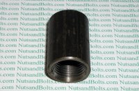 1/2 Black Pipe Merchant Coupling Qty (1)