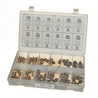 Auveco Door Hinge Bushing Assortment - 136 Pieces