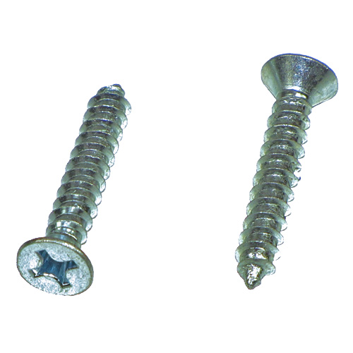#8 - 1 1/2 Phillips Flat Hd Sheet Metal Self Tapping Screws Qty (100) - Click Image to Close