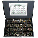 1025 Piece Grade 8 Nut and Bolts Assortment