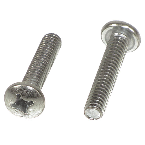 #8-32 x 3/8 Phillips Pan Head Machine Screws Qty (100) - Click Image to Close