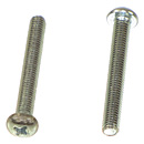Phillips Round Head Machine Screws - Fine (SAE)