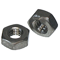 Stainless Steel Machine Hex Nuts, Grade 18.8, Coarse Thread