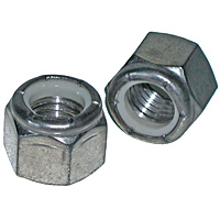 Stainless Steel Nylon Lock Nuts, Grade 18.8, Coarse Thread