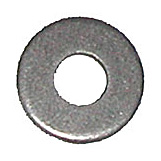 Zinc 5/32 Diameter Hole: Round Rivet Backup Washers Qty (100)