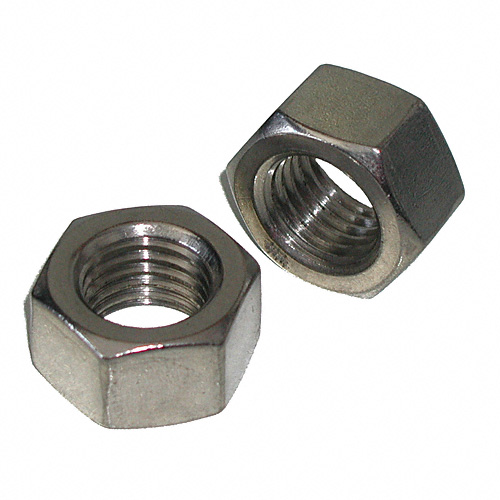 1/2 - 13 Stainless Steel Hex Nuts Qty (1) - Click Image to Close